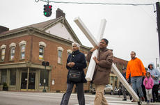 "<div class=""source"">KACIE GOODE/The Kentucky Standard </div><div class=""image-desc"">Friday's Walk with the Cross in Bardstown.</div><div class=""buy-pic""><a href=""/photo_select/102563"">Buy this photo</a></div>"