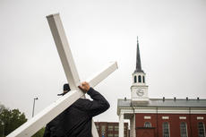 "<div class=""source"">KACIE GOODE/The Kentucky Standard </div><div class=""image-desc"">Friday's Walk with the Cross in Bardstown.</div><div class=""buy-pic""><a href=""/photo_select/102554"">Buy this photo</a></div>"