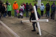 "<div class=""source"">KACIE GOODE/The Kentucky Standard </div><div class=""image-desc"">Friday's Walk with the Cross in Bardstown.</div><div class=""buy-pic""><a href=""/photo_select/102566"">Buy this photo</a></div>"