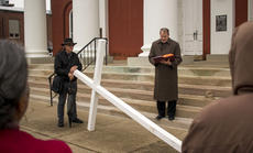 "<div class=""source"">KACIE GOODE/The Kentucky Standard </div><div class=""image-desc"">Friday's Walk with the Cross in Bardstown.</div><div class=""buy-pic""><a href=""/photo_select/102567"">Buy this photo</a></div>"