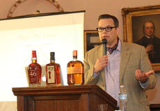 "<div class=""source"">RANDY PATRICK/The Kentucky Standard</div><div class=""image-desc"">Journalist Fred Minnick author of ""Whiskey Women: The Untold Story of How Women Saved Bourbon, Scotch and Irish Whiskey,"" gives a talk on the topic at Spalding Hall Wednesday afternoon. </div><div class=""buy-pic""><a href=""/photo_select/59796"">Buy this photo</a></div>"