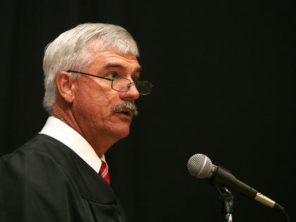 Nelson County School Board Chair Adam Wheatley addressed the Nelson County High School Class of 2011 at its June 3 graduation.