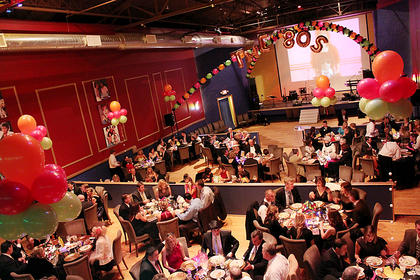 """About 180 people attended the 2012 Beautiful Dreamer Ball at Kreso's Restaurant Saturday. The theme of the night was """"I Love the '80s,"""" so guests were treated to an '80s-themed trivia game, and many came dressed for the part. A team of Ghostbusters made a surprise guest appearance."""