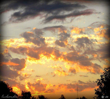 Bardstown Sunset, Fall 2011