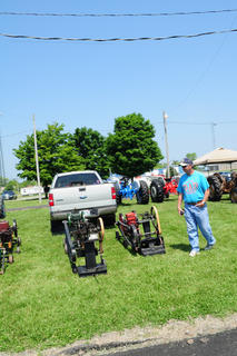Various types of antique engines were brought to the show, which were used on various kinds of farm equipment and machinery.