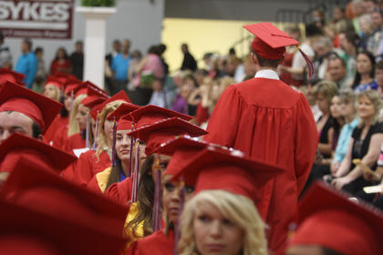 Around 330 students graduated from Nelson County High School Friday.