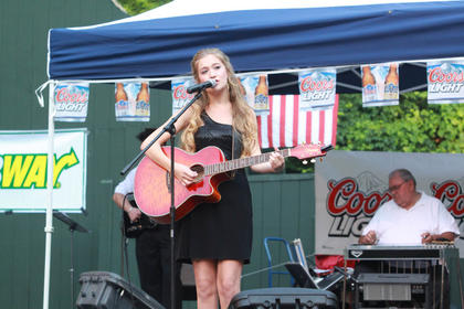Mary Kutter, Louisville, was supposed to perform in Monday night's competition but didn't because she won a Texaco Country Showdown in Indiana.