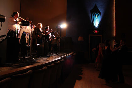 Guests at the 2011 Beautiful Dreamer Ball danced to the music of Lexington-based band the Sensations.