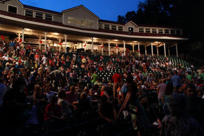 """The opening night of """"The Wizard of Oz"""" July 7 drew a record crowd for a second production of 1,006 people."""
