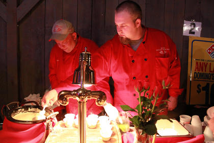 Old Kentucky Dinner Train was one of more than 20 restaurants at Taste of Bardstown 2011.