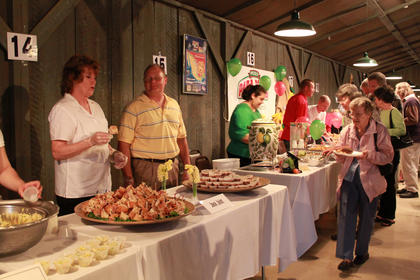 More than 20 restaurants served samples at the 18th annual Taste of Bardstown fundraiser.
