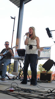 """Savanna Loren Gardner, Paducah, sang """"Take It Back"""" and """"Broken Wing"""" at the Texaco Country Showdown state finals at the Nelson County Fairgrounds Sept. 3, 2011."""