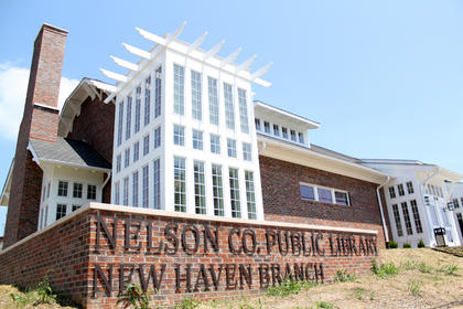 Nelson County Public Libraries celebrated the grand opening of the New Haven Branch on Center Street May 6.