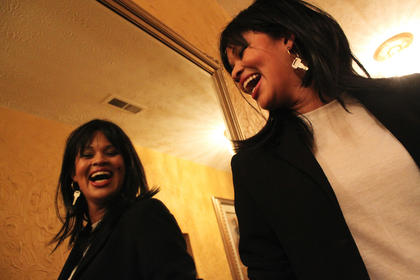 Julita Nance, Springfield, was dressed as Janet Jackson for the Beautiful Dreamer Ball.