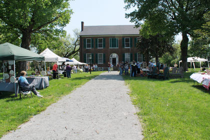 Wickland was the site of the Shades of Nature Herb Festival Saturday.
