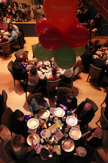The Beautiful Dreamer Ball is seen from above.