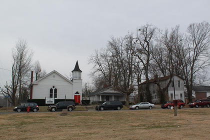 Ministers and citizens from across Nelson County met at 11 a.m. at St. John A.M.E. Zion Church in Bardstown to pray and sing, before leading a motorcade to St. Monica Church in honor of Martin Luther King Day.