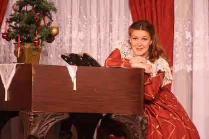 Jane McDowell, as portrayed by Charlotte Campbell, talks about how Stephen Foster wrote a song specifically for her.