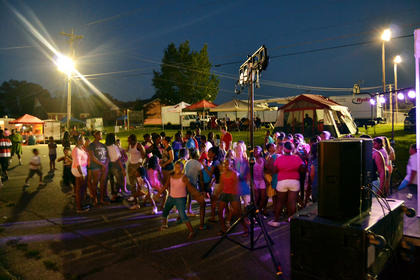 Children of all ages turned out for the Buttermilk Days Festival Kids Street Dance with DJ's G-Money and Physko on Friday night.