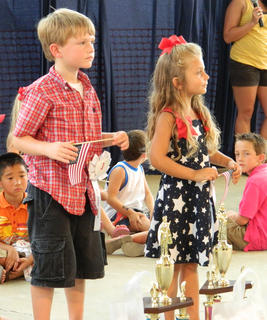 First runners-up were  Olivia Perry, daughter of Steve and Tina Perry, and Jack Brown, son of Matthew and Alicia Brown.