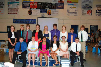On May 16, the eighth graders at St. Catherine Academy graduated.
