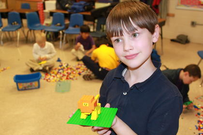 Weston Kellem building at the Lego Club