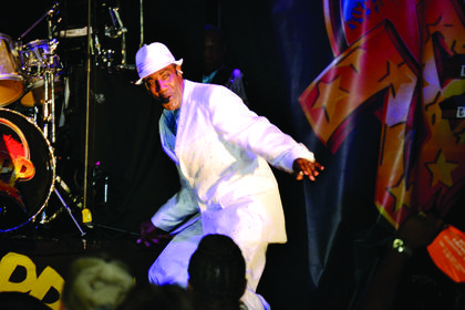The multi-platinum recording artists, The Zapp Band performed Saturday night for the fourth annual Street Concert at the 19th annual Buttermilk Days Festival.
