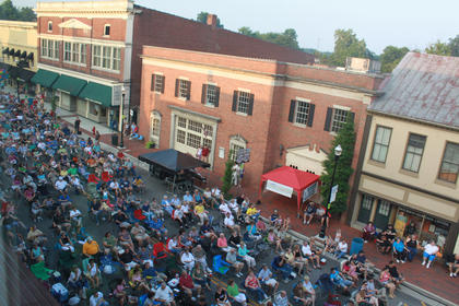 A crowd of approximately 2,500 or more attended the July 9 Pauly Zarb's Bardstown Street Concert.