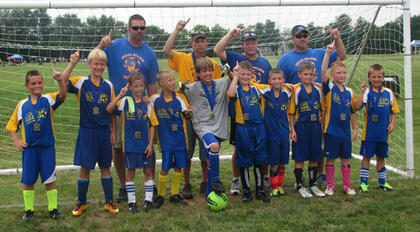 The U10 South Nelson Bad Boyz were Bluegrass State champions in their division. Team members include Jacob Thornsberry, Grant Bowling, Noah Snellen, Joshua Andrews, Colby Stiles, Aron Bennett, Gannon Mattingly, Logan Bennett, Braden Smith and Brandon Rapier. The team was coached by Vernie Snellen, Spud Mattingly, Bruce Smith and Shane Thornsberry.