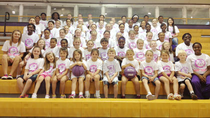 Bardstown head girls' basketball coach Jamie Neal had 55 campers attend her recent Lady Tiger Basketball camp.