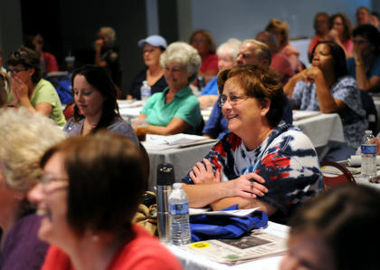 A full house packed into the Best Western last week for a free coupon class sponsored by The Kentucky Standard.