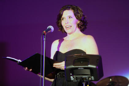 Jenn Warren performs at the Beautiful Dreamer Ball Saturday night at Kreso's.