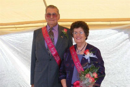King and Queen Tommy and Lou Downs