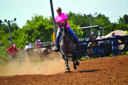 The Red Neck Rodeo was held at the Nelson County Fairgrounds Saturday to benefit the Kentucky Home Chapter of Hearing Loss Association of America.
