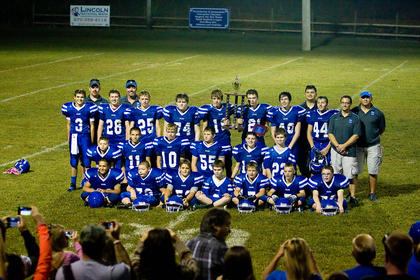 The Southwest Nelson Rams went undefeated in the middle school regular season.
