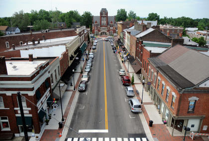 JUNE 3, 2011: The Streetscape renovation of North Third Street and downtown Bardstown was complete for the Grand Opening of downtown June 3.