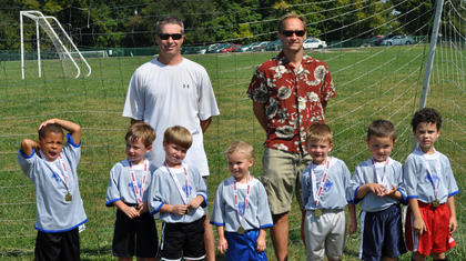 The 2013 U6 Hot Rods featured Aiden Watson, Dawson Goff, Zayne Payton, Cayden Greenwell, Easton Jones, M.J. Sketo and Aaron Crow Jr., as well as coaches Brad Greenwell and Davy Goff.