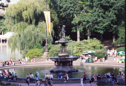 Eileen Ward, Bardstown, took this photo while visiting friends in New York City. They went to their favorite place in Central Park, the Bethesda Fountain.