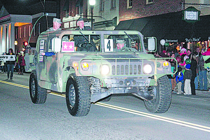 Brigadier General Thomas Raymond Ice and Major General Joseph L. Culver rode in the parade as the grand marshals.